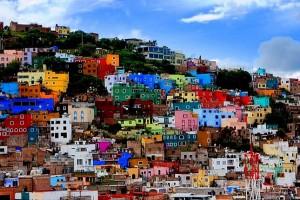 Guanajuato - casas de colores