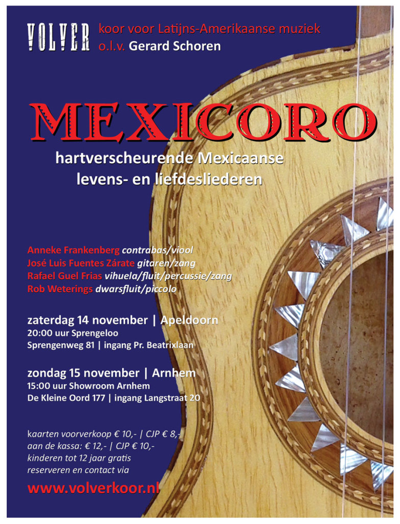 Mexicoro flyer 14 15 nov